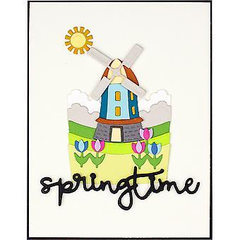 Spellbinders Springtime Snapshots Scenic Dies