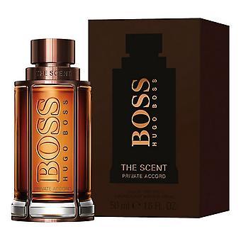 Mannen ' s parfum de geur private Accord Hugo Boss EDT (50 ml)
