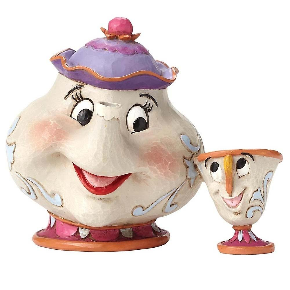 Disney Traditions Mrs Potts & Chip A Mothers Love Figurines