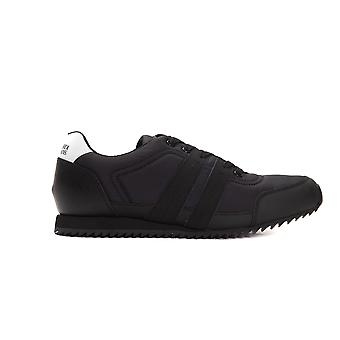 Men's Trussardi Black Sneakers