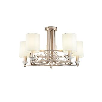 Maytoni Lighting Vittoria Cream With Gold Chandelier 5 X 40W
