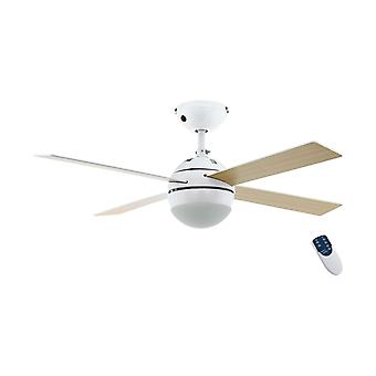 """Ceiling fan Losciale 107cm / 42"""" with light and remote"""