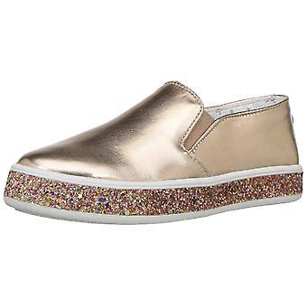 Steve Madden Kids' Jgloree Sneaker, Rose Gold,  Size Little Kid 3.0