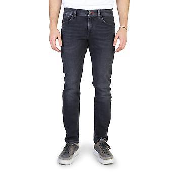 Tommy hilfiger men's jeans black mw0mw00975