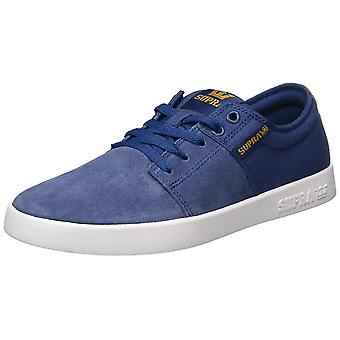 SUPRA Mens Stacks II Canvas Low Top Lace Up Skateboarding Shoes