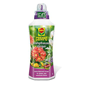 COMPO flowering plant fertilizer, 1 litre