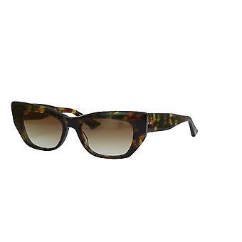 DITA Redeemer DTS530 02 Haute Tortoise/Dark Brown Sunglasses