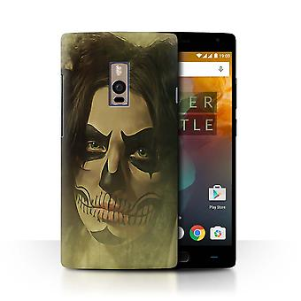 STUFF4 Case/Cover for OnePlus 2/Two/Gothic Girl Face Art/Day Of The Dead Festival