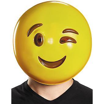 Wink Emoji Mask
