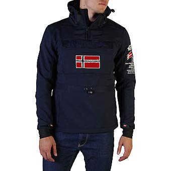 Geographical Norway Original Men Fall/Winter Jacket - Blue Color 36541
