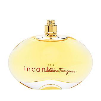 Incanto av salvatore ferragamo för kvinnor 3,4 oz eau de parfum spray (testare ingen mössa)