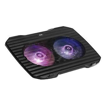 Gaming Cooling Base for a Laptop Mars Gaming MNBC0 RGB Black