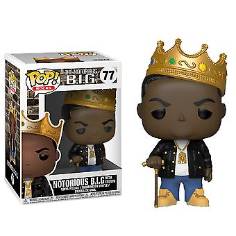 Notorious B.I.G. Notorious B.I.G. with Crown Pop! Vinyl