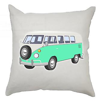 Campervan Cushion Cover 40cm x 40cm Turquise