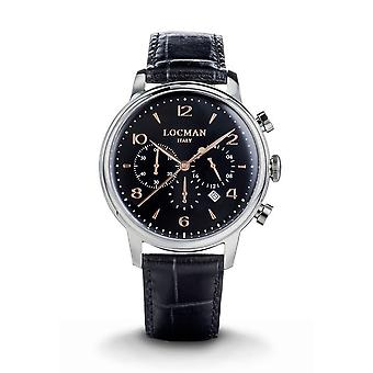 LOCMAN - Wristwatch - Men - 0254A01R-00BKRG2PK - 1960 QUARTZ CHRONOGRAPH