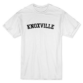 ノックスビル市を示す誇りメンズ ホワイト t シャツ