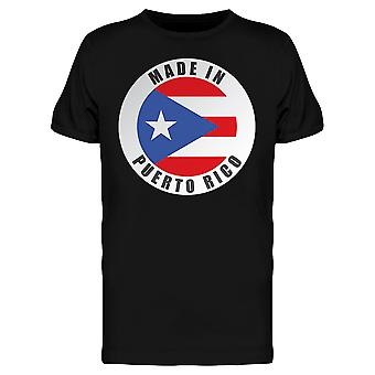 Made In Puerto Rico Tee Men's -Image by Shutterstock