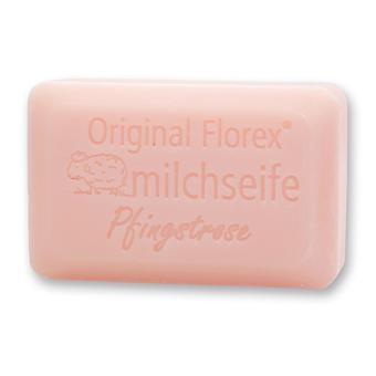 Florex Sheep Milk Soap - Piwonia - Wspaniałe róże Bukiet kwiatów Wspaniałe piwonie 100 g