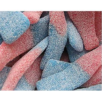 SweetZone Giant Fizzy Blue Bottles (60) Pieces 900g