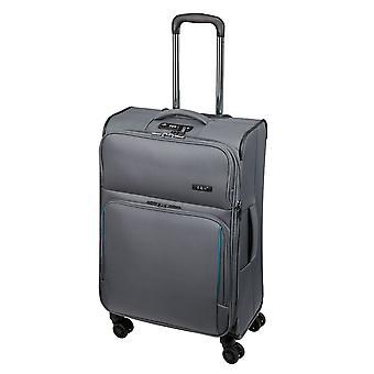 d&n Travel Line 7904 Trolley M, 4 wielen, 66 cm, 70 L, grijs