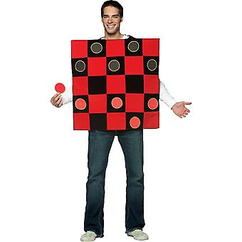 Checkers Adult kostym