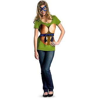 Tonåring flickor Leonardo Kit Tmnt kostym