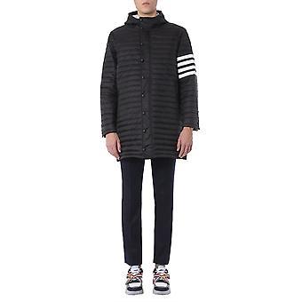 Thom Browne Mod013x05411001 Heren's Zwart Nylon Down Jacket