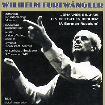 J. Brahms - Furtwangler Conducts Brahms Requiem [CD] USA import