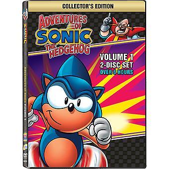 Sonic the Hedgehog Vol. 1-Adventures of Sonic the Hedgehog [DVD] USA import