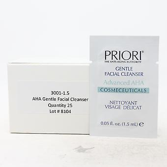 Priori Gentle Facial Cleanser Pack Of 25  / New