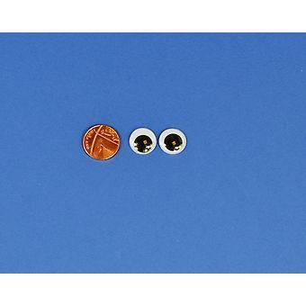 8 Hantverk Googly Ögon 15mm | Wiggly wobbly ögon