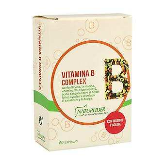 Vitamin B Complex 60 vegetable capsules