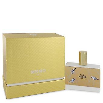 Eau de memo eau de parfum spray (unisex) by memo 543482 100 ml