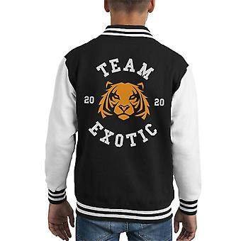 Tiger King Team Joe Exotic Kid's Varsity Jacket