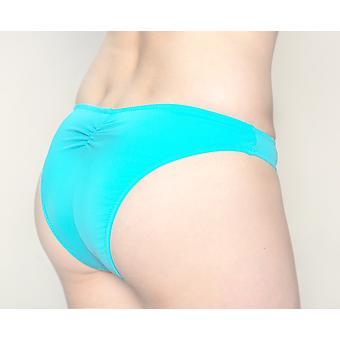 Aqua Perla Naisten Pinamar Sininen Brasilian Bikini Bottom