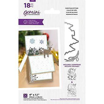 Gemini Christmas Cottage Stamp & Die
