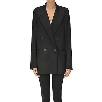 I.c.f. Ezgl456021 Women's Black Polyester Blazer