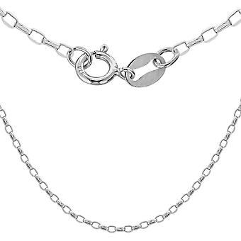 "Belcher Chain Necklace for Women Sterling Silver Size 24"" TJC"