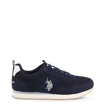 Us polo assn. 4250s0 men's synthetic fabric sneakers