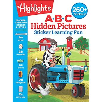ABC Hidden Pictures Sticker Learning Fun by Series edited by Highlights