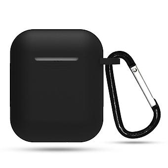 Apple Airpods Cases Earphone With Hook Cover Wireless Bluetooth Charging Box