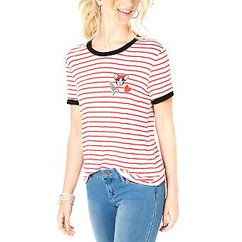 Rebellious One | Frenchie Striped Ringer T-Shirt