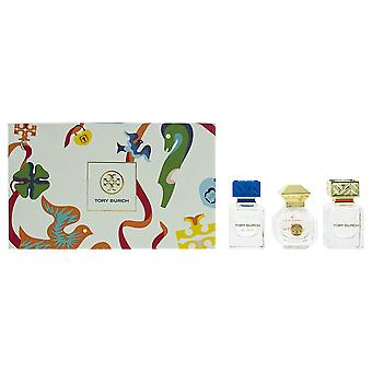 Tory Burch Fragrance Collection - 3 x Eau de Parfum 7ml - Gift Set For Her