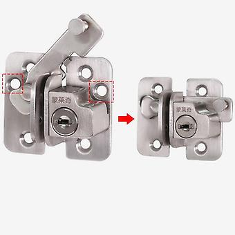 201 Stainless Steel Door Locks, Latch Bolt With Key