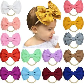 Baby Double Bow Hair Band For Kid