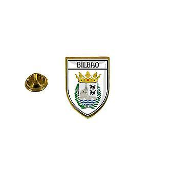 pins pin badge pin's souvenir ville drapeau pays blason espagne bilbao