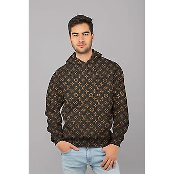 Pegged lv men sublimation hoodie