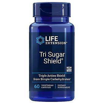 Lebensdauer Tri Zuckerschild, 60 Vcaps
