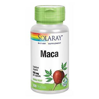 سولاري ماكا، 525 ملغ، 100 كابس