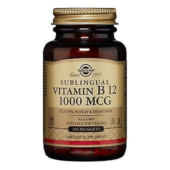 Solgar Vitamiini B12, 1000mcg, 250 Nuggets